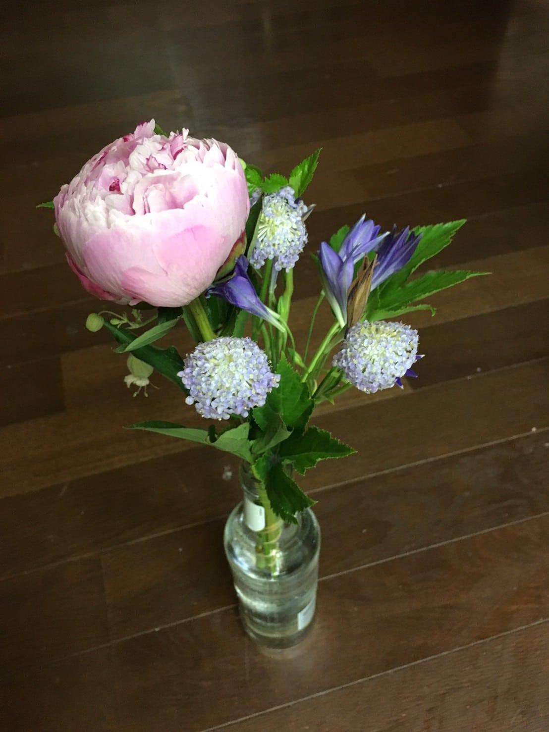 花瓶に入ったお花