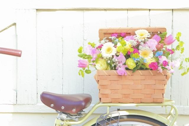 宅配のお花