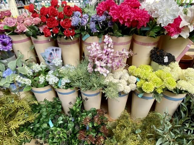 花の売り場