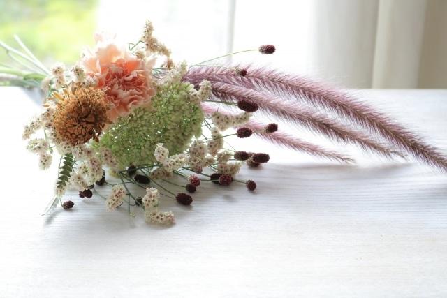 ふさふさの花